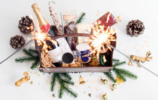 Kerstpakket, leuke bedoeling!